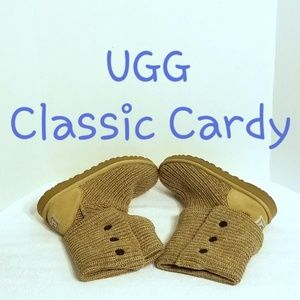 UGG Classic Cardy Sweater Boots 5819 - Sz 8